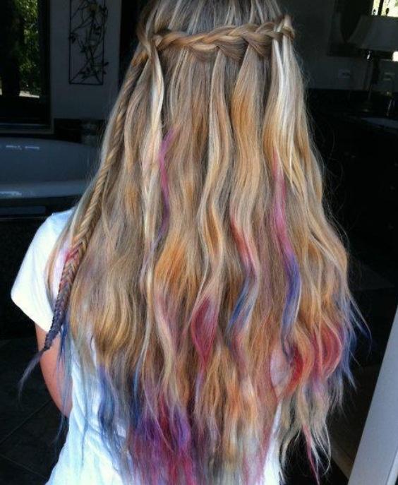 70 best Dip Dye Hair images on Pinterest | Colourful hair ...