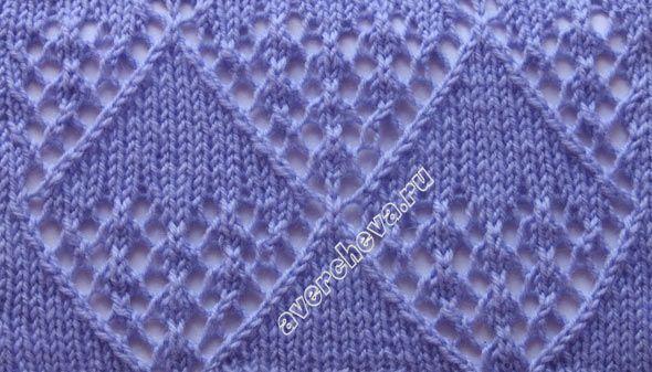 узор к пуловеру 1