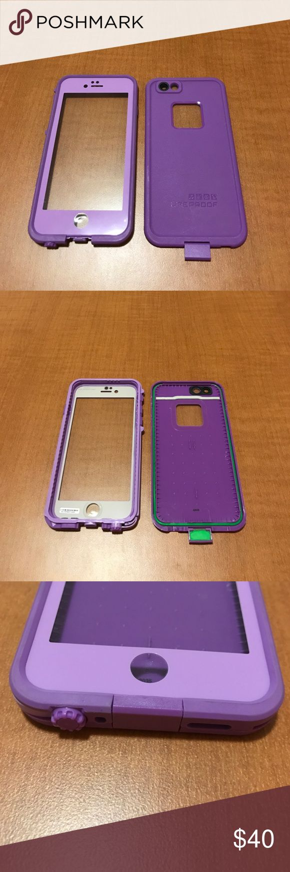 Life Proof Case for iPhone 6/6s Super cute two-toned Life Proof case for the iPhone 6/6s. I just upgraded my phone so it no longer fits. It is in amazing condition. LifeProof Accessories Phone Cases