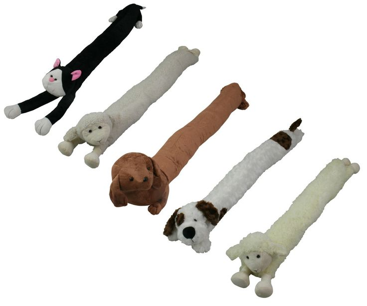 Animal Draught Excluder Cat Dog Sheep Ebay Door Draft