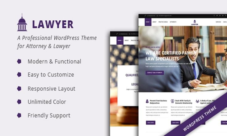 #Theme Of The 02 Apr 2017 Lawyer - A Professional WordPress Theme for Attorney & Lawyer by Zozothemes http://www.designnominees.com/themes/lawyer-a-professional-wordpress-theme-for-attorney-lawyer