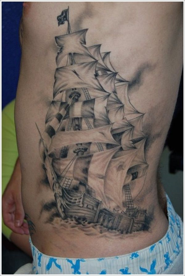 35 Most Amazing Nautical Tattoo Designs