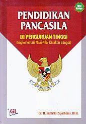 TOKO BUKU RAHMA: PENDIDIKAN PANCASIAL DI PERGURUAAN TINGGI (IMPLEME...