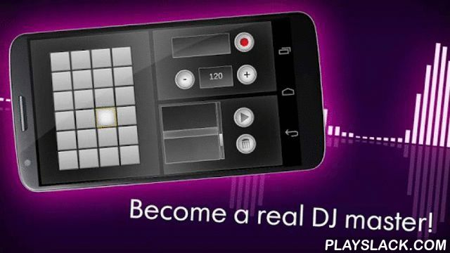 DJ Beat Pads  Android App - playslack.com , Already familiar with dozens of colorful, but useless dj mixer apps and dj sets? Looking for something really useful and well-done dj set fee app - DJ Beat Pads!DJ Beat Pads is something new in the sphere of music creation and music composing! DJ Beat Pads was designed for playing with your fingers and hands. Easily set the pitch for each sound. The multi touch mixer controls volume and stereo balance for each pad. Use your fingers to drag and…