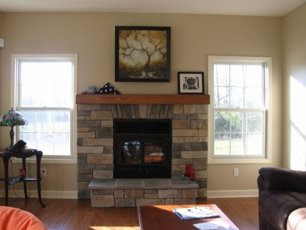 Indoor gas fireplace and Direct vent gas fireplace