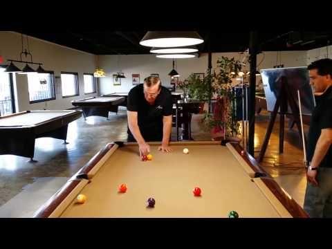 Bob Meucci demonstrates Cuts and Caroms - YouTube | Pool