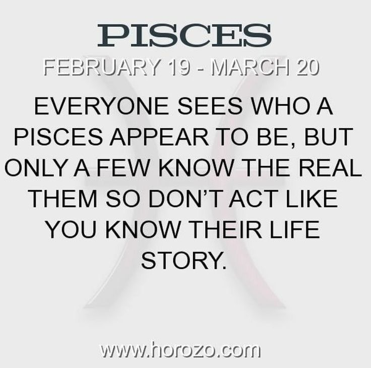 To my special Pisces friend... An introvert to the world and a best friend to me.