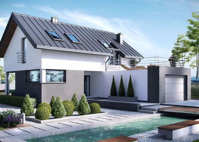 42 best casa images on Pinterest Homes, House design and Modern - garten lounge uberdacht