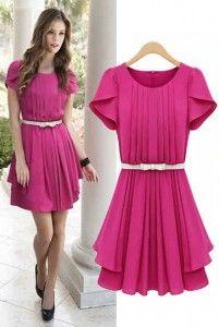 Frenny Dress Bahan: Katun Rayon ( Free Belt Putih Standar ) Size: Lebar dada/panjang: 40/80cm Kode Produk: D4808 Harga: Rp. 67.000