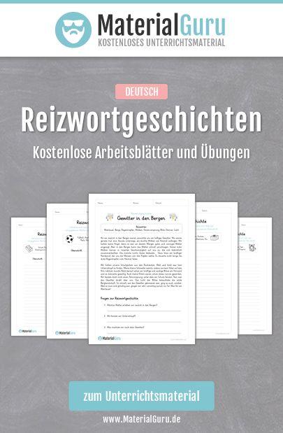 kostenlose arbeitsbl tter und bungen zum thema reizwortgeschichten im fach deutsch jetzt. Black Bedroom Furniture Sets. Home Design Ideas