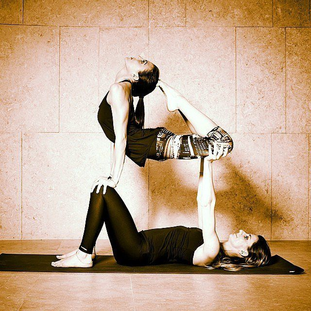 Partner Yoga Photos on Instagram | POPSUGAR Fitness Photo 8