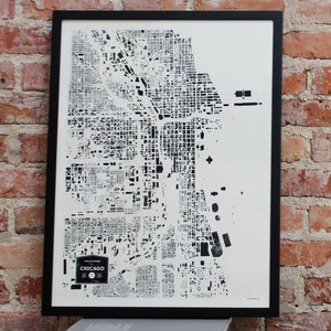 Buildings Of Chicago Print, $28, now featured on Fab.