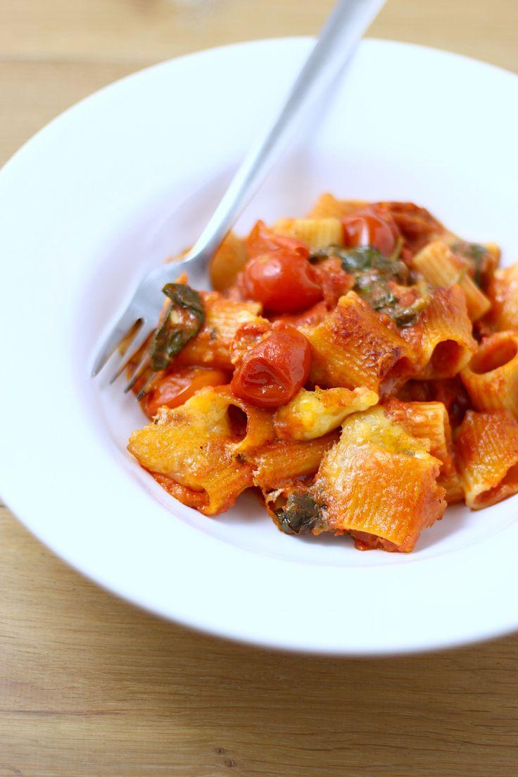 Ultiem comfort food: ovenpasta die je gemakkelijk in 1 schaal maakt - Francesca Kookt