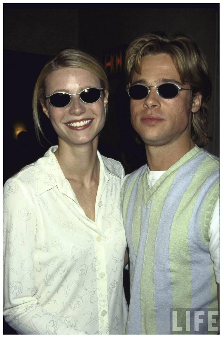 Gwyneth Paltrow and Brad Pitt......If you like authentic Ray ban and Oakley Sunglasses,please visit http://www.ing-gni.com