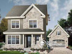 Plan de maison no. W2771 de dessinsdrummond.com