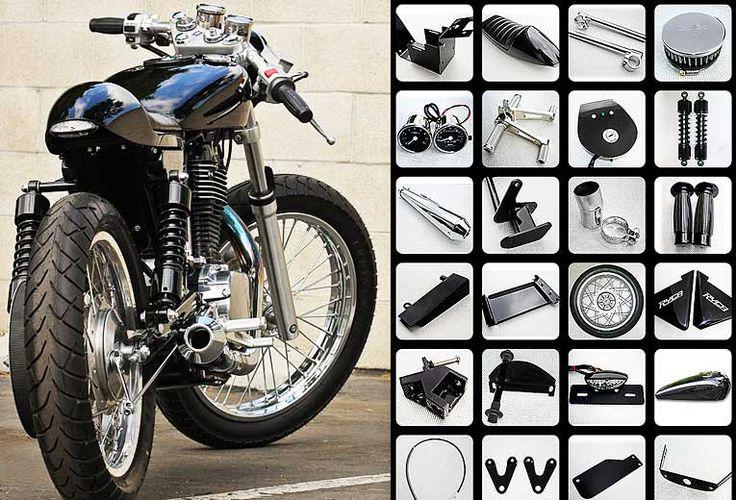 ryca motors motorcycle kits & parts | cafe racer, bobber