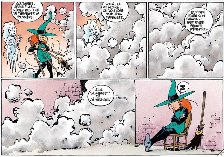 🎉 Joyeux anniversaire Clarke ! 🎉  Retrouvez la série phare de ce dessinateur de talent, Mélusine, à lire en ligne sur izneo ! http://www.izneo.com/albums/melusine/ville-fantome-tome-24-A5166970