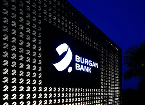 I-AM created the bank branch design & bank brand identity for Burgan Bank's private banking centre located in Istanbul's Nispetiye Street.