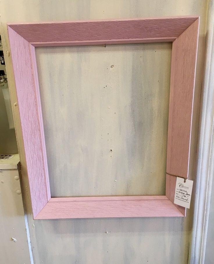 Vintage Pink Frame - $46