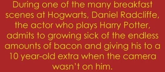 Community Post: 100 Things You Didn't Know About Harry Potter - hahahh