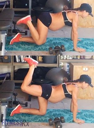 Full-Body Circuit Blast: Limited Equipment Timesaver. Also a good pregnancy workout!