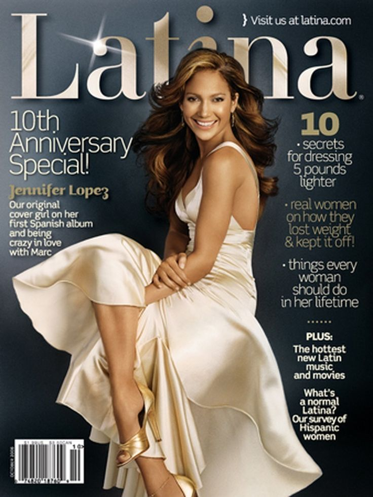 #Throwback Jennifer Lopez on the 10th Anniversary Special of Latina Magazine!
