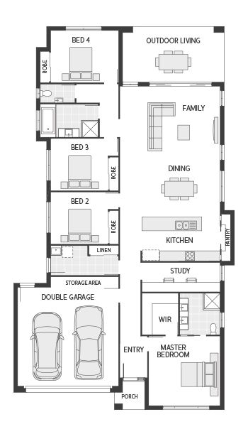 Coral Homes :: The Bribie Series features
