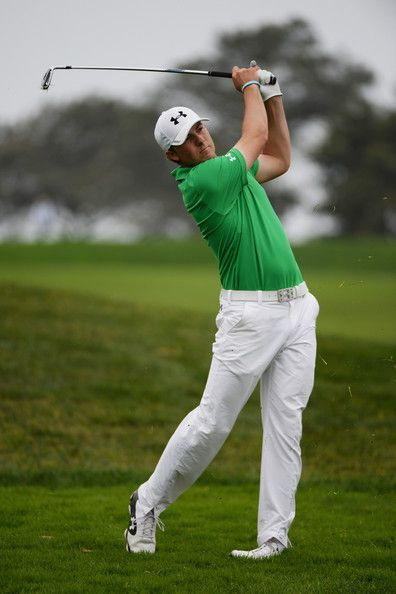 Jordan Spieth - Farmers Insurance Open: Round 2  Apparel Designs by Michael L. Wherley for Under Armour