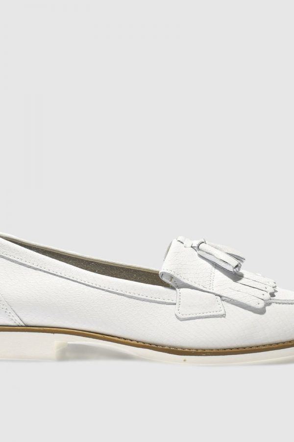 616fb8a1edf Schuh White Compass Flat Shoes 600x900 | The best picks from the Schuh sale