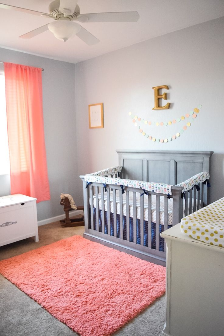 25 best ideas about coral nursery on pinterest coral for Babies bedroom decoration