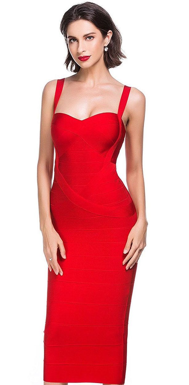 Red Dresses For Sale Cocktail