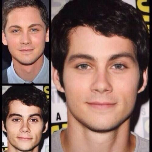 Merged celebrity faces for text