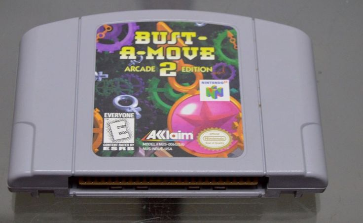 Bust-A-Move 99 Nintendo 64 N64 Cleaned & Tested