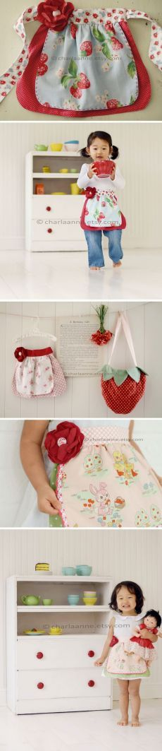 1000+ ideas about Cute child apron on Pinterest | Sewing