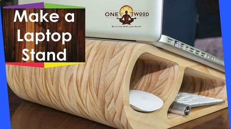 How To Make A DIY Wooden Laptop Stand And Learn Woodworking Techniques Download Free SketchUp Plans Click Here Download Free Metric Plans PDF Click Here Download Free Imperial Plans PDF Click Here This DIY project can also be made on the X Carve 3D Carver from Inventables for the Free plans in their CNC software easel.com Click Here My Triton Router amzn.to/2ehy4nV My Microjig Grr-Ripper amzn.to/2e5JMlX To start with we design the template in Sketch...