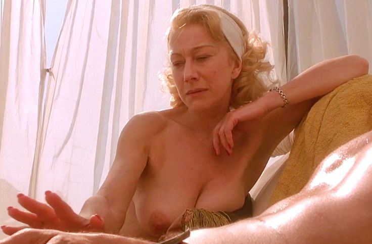 Can helen mirren mature see through