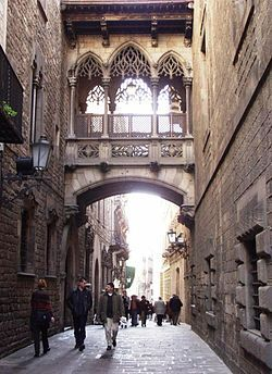 Barri Gòtic #barcelona #hiszpania