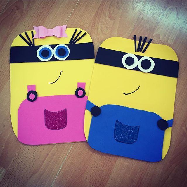 minions craft idea for kids (3)