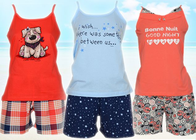 Women's Summer, Cotton PJ's! Cool, refreshing and most important, super cute!!