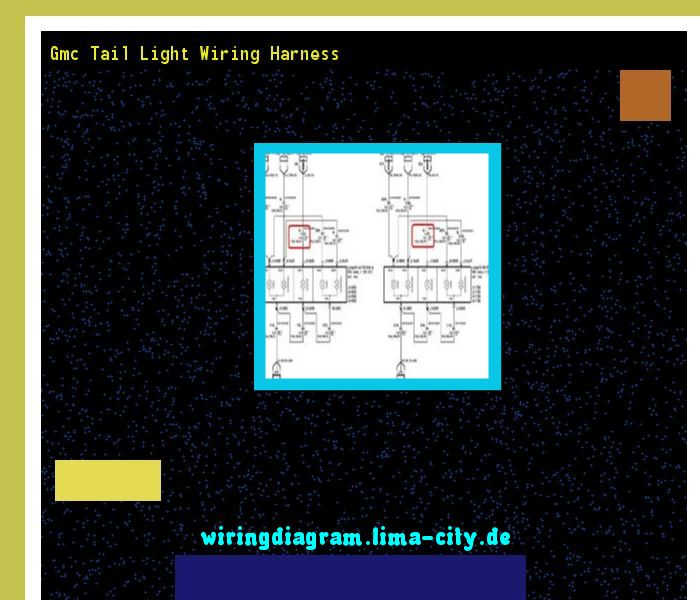 gmc tail light wiring harness wiring diagram 174432 amazing rh pinterest com