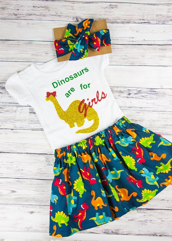 3ec2cd7759a2 This dinosaur outfit is perfect for your little dinosaur lover! Dinosaurs  arent just for boys, girls love them just as much:) It is perfect for a  dinosaur ...