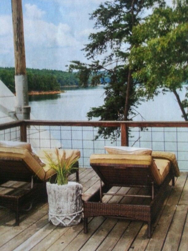 Cattle Panel For Deck Railing Lake House Ideas