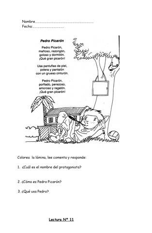 ISSUU - Excelentes fichas de comprension de lectura para 1o y 2o aã±o de primaria[1] de tere ha