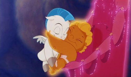 Baby hercules & baby Pegasus. I love Disney <3Except, Friends, Royal Baby, Baby Hercules, Ancient Greece, Disney Baby, Animal, Baby Pegasus, Disney Movie