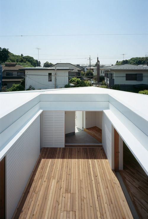 : Takuro Yamamoto, Decks, Interiors Design, Architecture Houses, Home Decor, Outdoor Spaces, F White, Yamamoto Architects, Birds