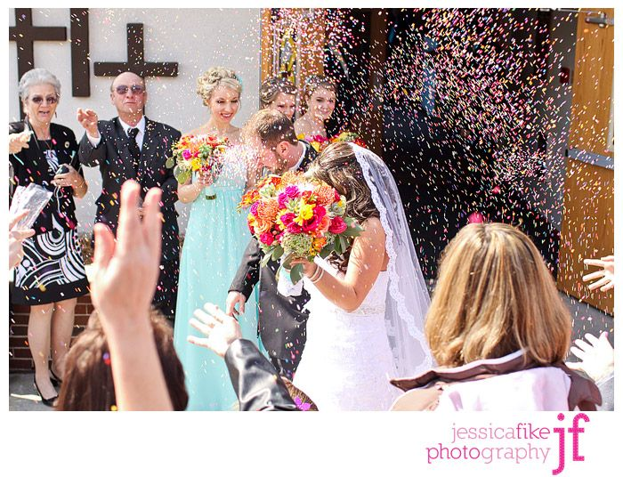 sprinkles at weddings | ... Jay: Light Blue and Colorful Spring Wedding, PA Wedding Photographer