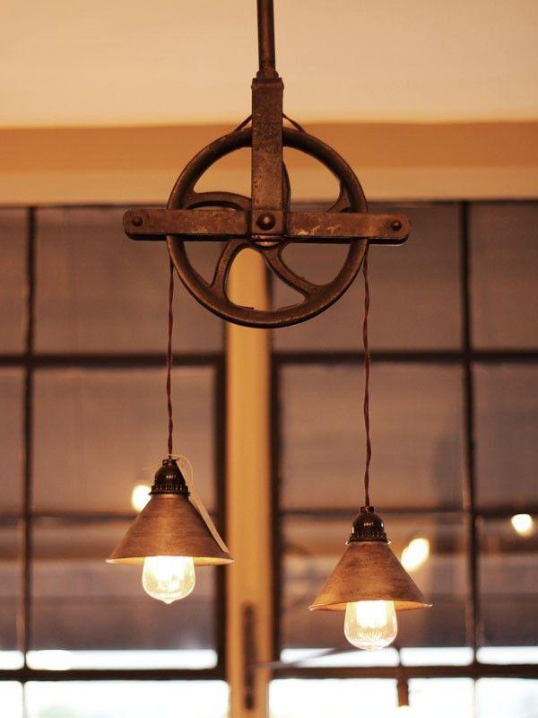 Hanging light fixture lighting bulb wick pinterest for Rustic lighting