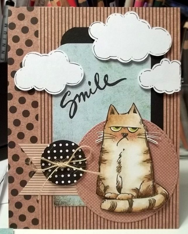 TLC578 Smile by jaydekay - Cards and Paper Crafts at Splitcoaststampers
