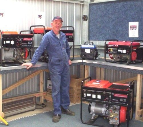 Generators provide power without needing to tie into the grid and obtain power from the electric company.
