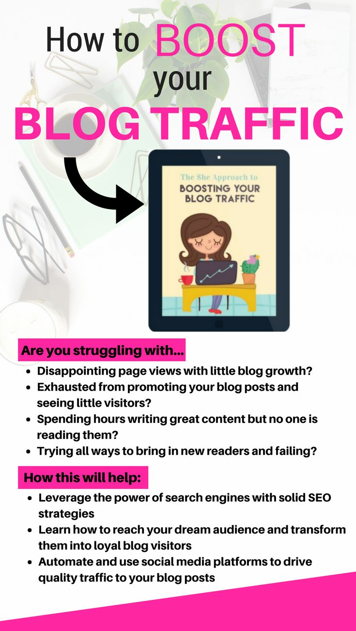 Struggling with writing and promoting your blog posts all day only to see disappointing page views? Have you been blogging for a long time but seeing little blog growth? Then the How to Boost Blog Traffic Ebook is for you. Ana from The She Approach gives amazing tips on how to grow your blog traffic. She also gives SEO tips for bloggers and beginners. Implement these tried-and-tested tips and see your blog traffic increase! #Affiliate